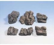 pískovcové útesy 6ks