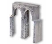 viadukt z lámaného kamene obloukový