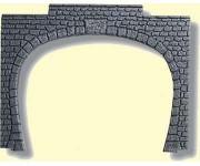 Noch 60020 portál tunelu dvoukolejný 2ks H0