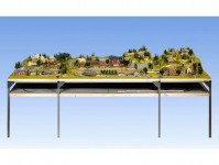 Noch 84340 přední rozšiřující díl kolejiště 140 x 31 cm N