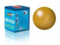 Revell 36192 barva Revell akrylová - 36192: metalická mosazná (brass metallic)