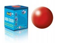 Revell 36330 barva Revell akrylová - 36330: hedvábná ohnivě rudá (fiery red silk)