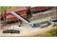 Auhagen 11414 pásový dopravník, váha, rampa H0