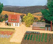 Auhagen 12235 zahradnictví H0/TT