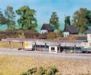 Auhagen 14459 kryté nástupiště N