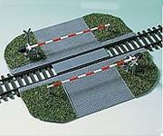 Auhagen 41582 chráněný železniční přejezd H0
