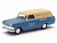 Brekina 20160 Opel P2 skříň MAN Kundendienst - doprodej H0