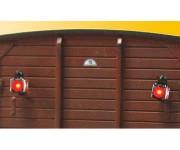 Viessmann 5069 koncové osvětlení vozu s LED H0