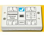 Viessmann 5551 relé 1x4přepínací