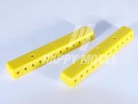 Viessmann 6842 lišta rozvodná žlutá 2ks+šrouby
