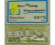 Viessmann 6878 zástrčka bílá 10 ks