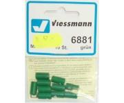 Viessmann 6881 svorka zelená 10ks
