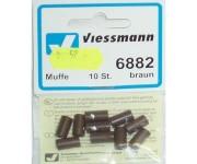 Viessmann 6882 svorka hnědá 10ks