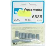 Viessmann 6885 svorka šedá 10ks