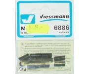 Viessmann 6886 svorka černá 10ks