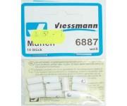 Viessmann 6887 svorka bílá 10ks