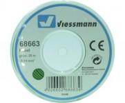 Viessmann 68663 kabel 0,14mm 25m zelený