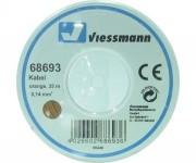 Viessmann 68693 kabel 0,14mm 25m oranžový