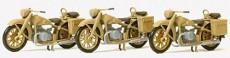 Preiser 16572 motocykl BMW R 12 3ks stavebnice