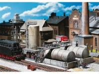 Faller 120157 olejové hospodářství s čerpací stanicí H0
