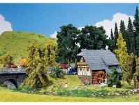 Faller 130387 malý Schwarzwaldský mlýn H0