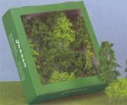 Jordan 4b přírodní stromy 12ks H0/TT