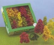 Jordan 4c přírodní stromy podzimní 12ks H0/TT