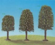 Jordan 5c listnaté stromy zelené 120-160mm 3ks H0/TT