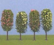 Jordan 6b ovocné stromy H0 10cm 4ks H0