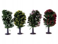 Jordan 7e stromy listnaté pestré 4ks 6cm N