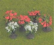 Jordan 9a keře kvetoucí H0 1,5cm H0/TT