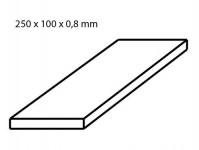 Albion Alltoys sm3m hliníkový plech tloušťka 0,8 mm formát 100 x 250 mm 2 ks