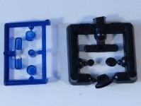 Čstrain 85101 majáky různé modré 4ks H0