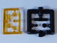Čstrain 85103 majáky různé oranžové  4ks H0