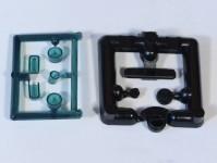 Čstrain 85104 majáky různé zelené 4ks H0