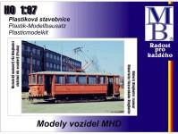 MB 01221 stavebnice Ringhoffer (5oken), oranžová s pantografem H0