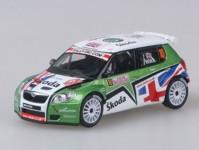 Abrex 43xab603te Škoda Fabia S2000 No.10 Wilks- 1:43