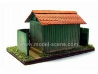 Model Scene 98061 drážní WC malé H0