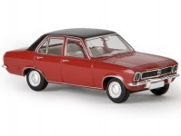 Brekina 20375 Opel Ascona A červený/černý
