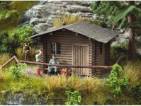 Noch 14342 lesní chatka
