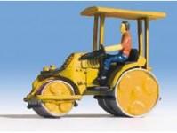 silniční válec Zettelmeyer žlutý - doprodej