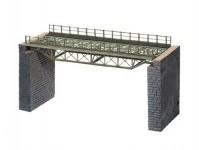 most ocelový 180mm s pilíři