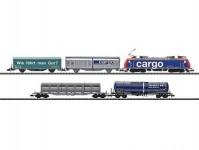 Trix 11131 set elektrická lokomotiva 482 s nákladním vlakem