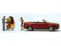 """Preiser 33256 Audi Cabrio """"vše se musí vejít"""""""