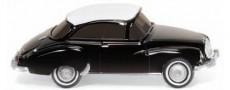 Wiking 12501 DKW Coupé černé s bílou střechou