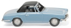 Wiking 18749 BMW 1600 GT Cabrio světle modré