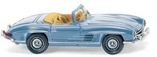 Wiking 83407 MB 300 SL Roadster světle modrý