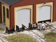 Auhagen 41704 plošinové vozy s čelními stěnami - atrapa