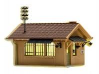 strážní domek s vnitřním osvětlením