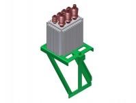 Viessmann 4105 napájecí transformátor vrchního vedení